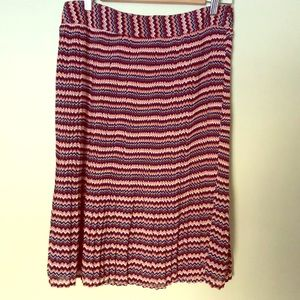 DE Collection zigzag skirt